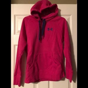 Hot Pink Under Armour Storm Hoodie